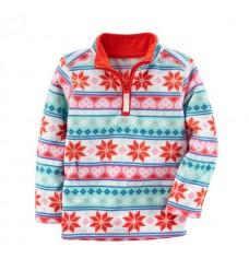 """Флисовый пуловер Картерс """"Зимний орнамент"""" (Код: 04819)"""