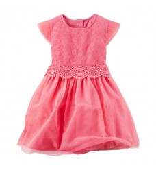 Платье Картерс с кружевом (Код: 04462)