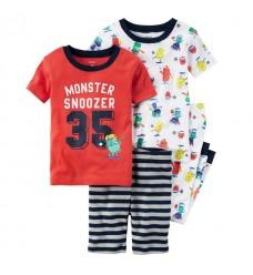 Пижама 4в1 Картерс (Код: 04378)