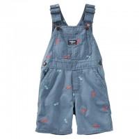 Хлопковый комбинезон-шорты ОшКош (Код: 04392)
