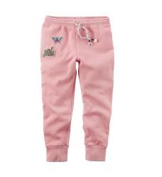 """Розовые штаны Картерс """"Girl power"""" (Код: 04628)"""