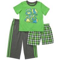 Пижама 3в1 Картерс (Код: 10110)