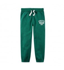 Зеленые штаны-джоггеры Картерс на флисе (Код: 04740)