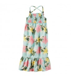 Платье Картерс яркие цветы (Код: 04450)