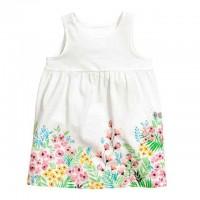 Платье HM белое с цветами (Код: 04429)