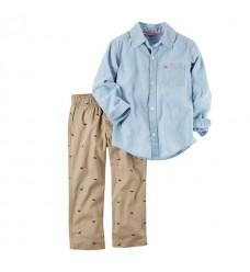 Комплект Картерс рубашка и штаны (Код: 04396)