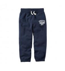Синие штаны-джоггеры Картерс на флисе (Код: 04738)