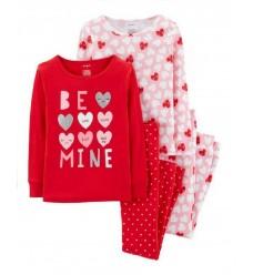 """Пижама 4в1 Картерс """"Be mine"""" (11116-02)"""