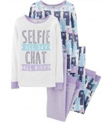 """Пижама 4в1 Картерс """"Selfie chat"""" (11143-02)"""