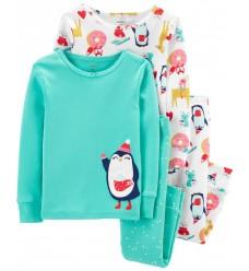 "Пижама 4в1 Картерс ""Пингвин"" (11374-02)"