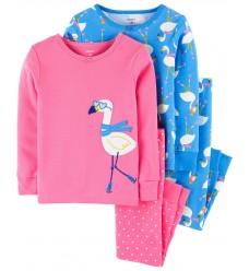 """Пижама 4в1 Картерс """"Фламинго"""" (11379-02)"""
