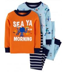 """Пижама 4в1 Картерс """"Морской мир"""" (11384-01)"""