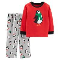 """Флисовая пижама Картерс """"Пингвины"""" (Код: 07990)"""