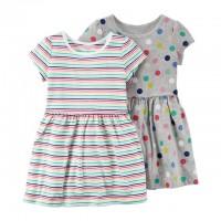 """Платье Картерс """"Цветные полоски"""" (Код: 04837)"""