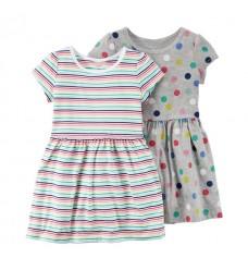 """Платье Картерс """"Цветные горохи""""(Код: 04838)"""