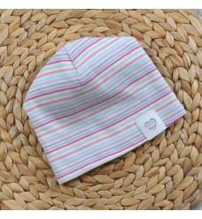 """Двойная шапочка MagBaby """"Цветный полосы"""" (Код: 06196)"""