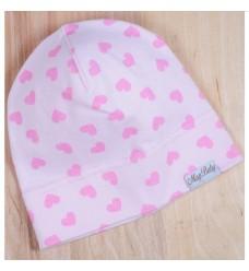 """Шапочка Magbaby """"Розовые сердечки"""" (Код: 04847)"""