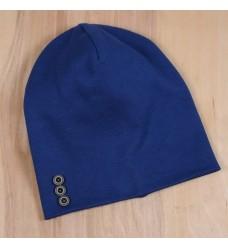 """Двойная шапочка MagBaby """"Синяя"""" (Код: 07963)"""