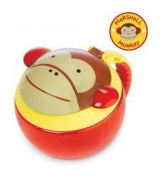"""Контейнер-чашка для снеков Skip Hop """"Обезьянка"""" (11231-01)"""