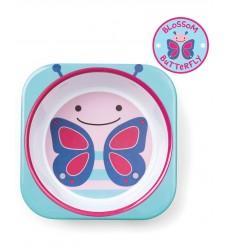 Тарелка Skip Hop «Бабочка» (Код: 06206)