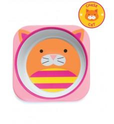 Тарелка Skip Hop «Котик» (Код: 06207)