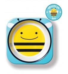 Тарелка Skip Hop «Пчела» (Код: 06208)